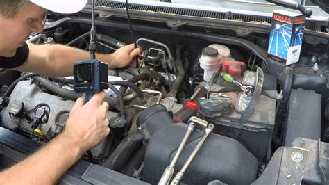 ford flex  tune    replace spark plugs