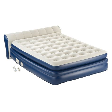 aerobed with headboard size aerobed premier high air mattress with built
