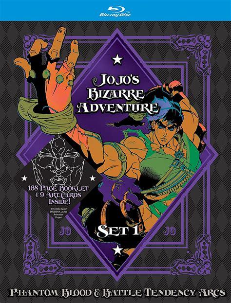 Jojos Adventure 2012 Anime Review Jojo S Adventure Set 1 Review Otaku Dome