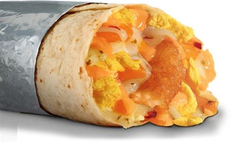 New Triple Cheese & Hash Brown Breakfast Burrito Arrives