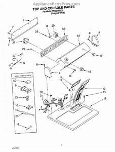 Parts For Estate Teds740jq0  Section Parts