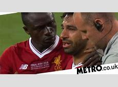Real Madrid v Liverpool Mohamed Salah in tears after