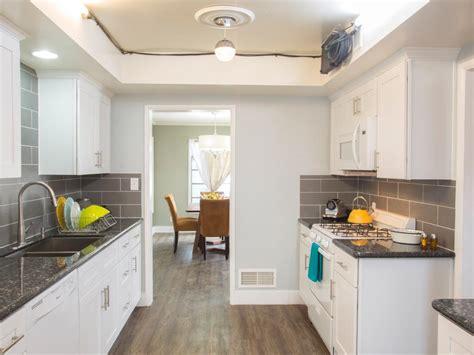 white galley kitchen ideas photo page hgtv 1306