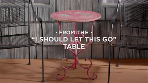 Give An Old Metal Table A New Look With Stops Rust Spray Makeup Vanity Chairs Chair Deals Walmart Stackable Leg Extensions Barbers Glass Hydraulic Salon For Sale Backrest