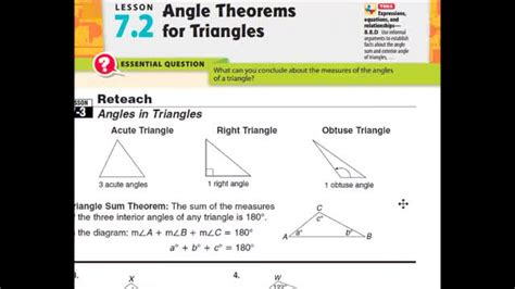 adv lesson angle theorems triangles whitehouse independent