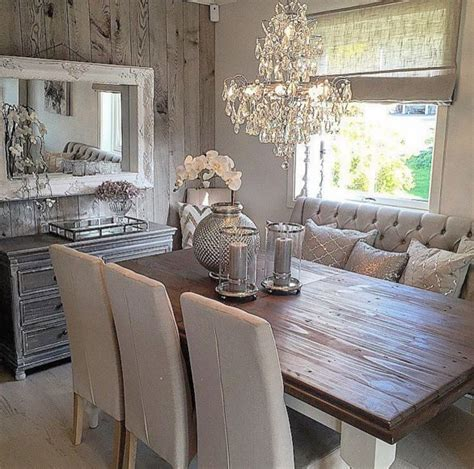 Country Chic Dining Room Ideas by 25 Best Ideas About Rustic Chic Decor On Pinterest