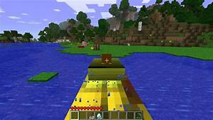 Minecraft Mods 27 Yellow Submarine Mod YouTube