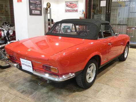Fiat 124 For Sale by Classic 1971 Fiat 124 Sport Spider 1600 For Sale Dyler