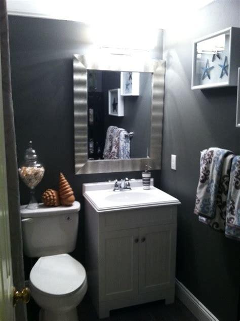 small coastal bathroom tropical bathroom orange