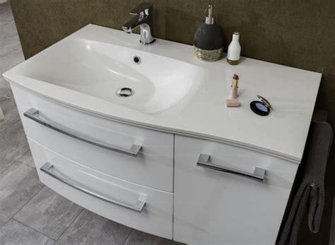 waschtisch 90 cm breit marlin bad 3120 waschtisch mit unterschrank 90 cm breit badm 246 bel 1