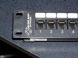 Just Acquired A 568b Patch Panel  How To Wire With My 568a Network   186kb Of Pictures