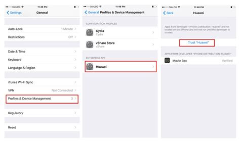device management iphone install box for iphone with vshare helper
