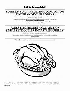 Kitchenaid Superba Dishwasher Manual