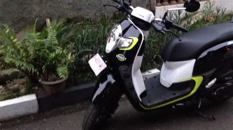 Modifikasi Scoopy 2017 Hitam Putih by 84 Modifikasi Scoopy 2017 Hitam Putih Kumpulan