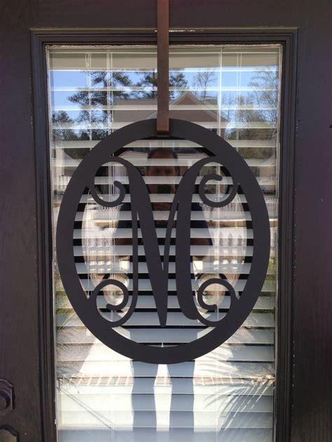 monogrammed metal wreath monogrammed wreath  southerngreeters  metal monogram door