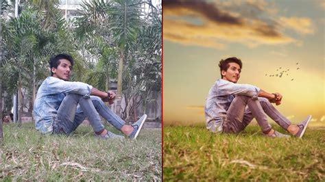 set background manipulation photoshop cc youtube