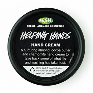 Lush handcreme
