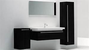 Meuble Salle De Bain Noir Et Bois : meuble salle de bain design grande vasque sicily mobilier moss ~ Teatrodelosmanantiales.com Idées de Décoration