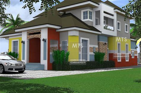 nneoma  bedroom pent house design modern  contemporary nigerian building designs