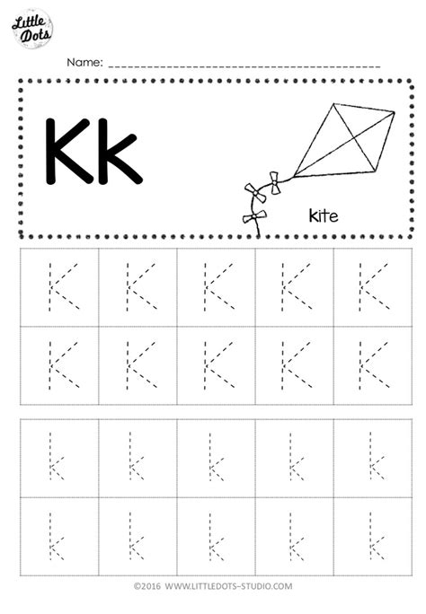 letter  tracing worksheets