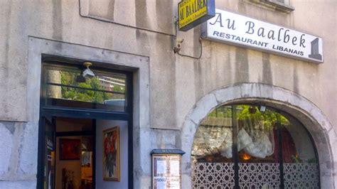 restaurant au bureau grenoble au baalbek in grenoble restaurant reviews menu and