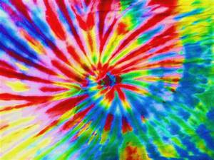 Trippy Tie Dye Background