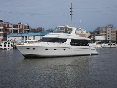 Carver Voyager Boats by 2003 Carver 570 Voyager Pilothouse Power Boat For Sale