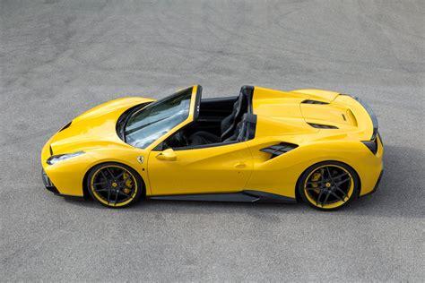 2016 Novitec Rosso Ferrari 488 Spider 4k Ultra Hd