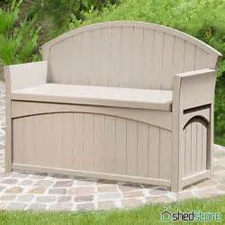 charming component patio storage bench for your outdoor