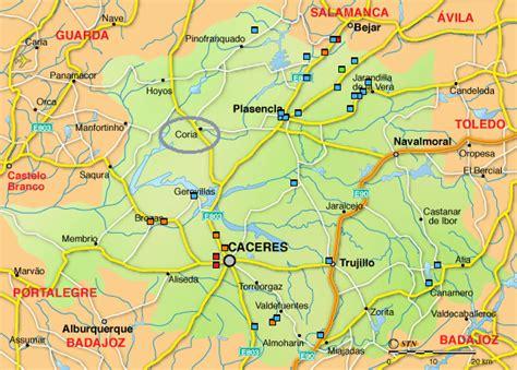 coria caceres mapa coria caceres mapa my blog