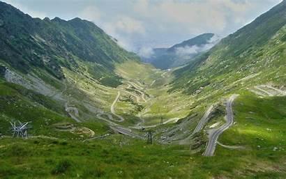 Romania Road Mountain Wallpapers Fanpop Background Desktop