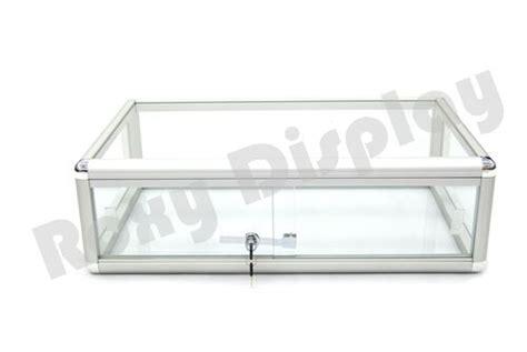 Countertop Showcases - glass countertop display store fixture showcase sc