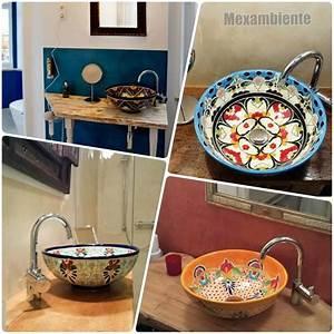 Waschbecken Retro Design : 1000 images about bunte mexikanische aufsatzwaschbecken on pinterest ~ Markanthonyermac.com Haus und Dekorationen