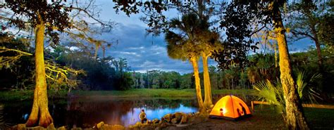 florida campgrounds camping creek rv locations