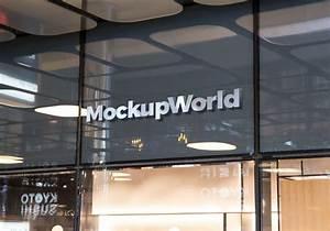 Shop, Facade, Logo, Mockup