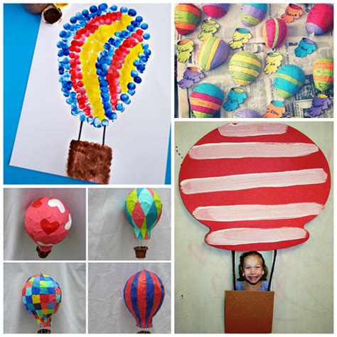 Hot Air Balloon Crafts For Kids To Make  Crafty Morning