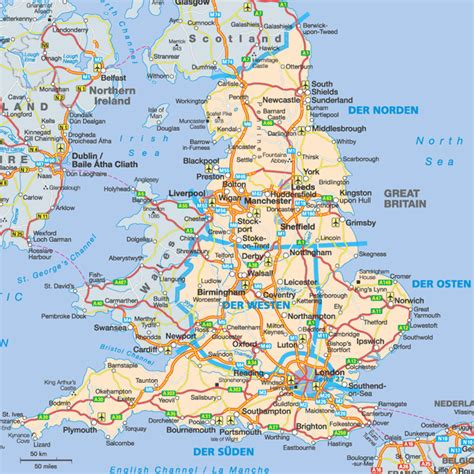 Carte Angleterre Grandes Villes by Maps April 2012