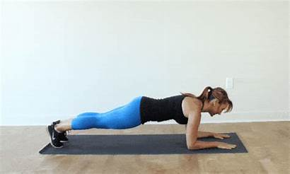 Exercise Plank Dynamic Workout Bodyweight Position Military