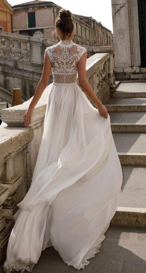 bohemian kleid hochzeit brautkleider im boho stil der hei 223 este trend f 252 r ihre hochzeitsfeier hochzeitskleider