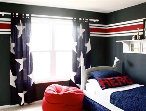 chambre ado bleu gris chambre et noir pour ado