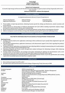 sample resume with experience pertaminico With php sample resumes for experienced