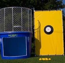dunking booth taylor rental  greenville ms