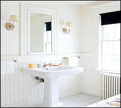 Wainscoting Bathroom Walls Home Design Ideas And Pictures