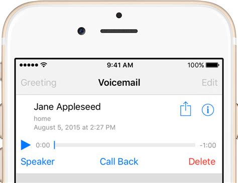 att setup voicemail iphone how to use visual voicemail on iphone 6 plus howsto co