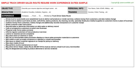 Cdl Truck Driver Resume Sles by Flatbed Truck Driver Resumes Sles