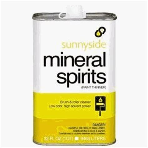 difference  mineral spirits paint thinner