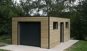 Abri De Jardin Metal 20m2 : abri de jardin 20m2 toit plat ~ Melissatoandfro.com Idées de Décoration