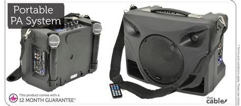 50w Portable Outdoor Pa Speaker System