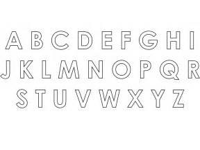 Alphabet Outline Alphabet Silhouette Free Vector Silhouettes