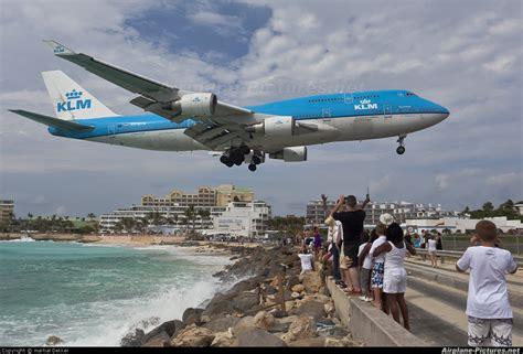 klm stoelindeling 747 400 ph bfn klm boeing 747 400 at sint maarten princess